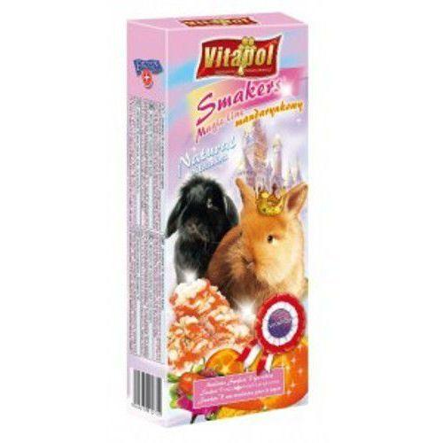 Vitapol kolby dla królika z mandarynką magic line, 2 sztuki