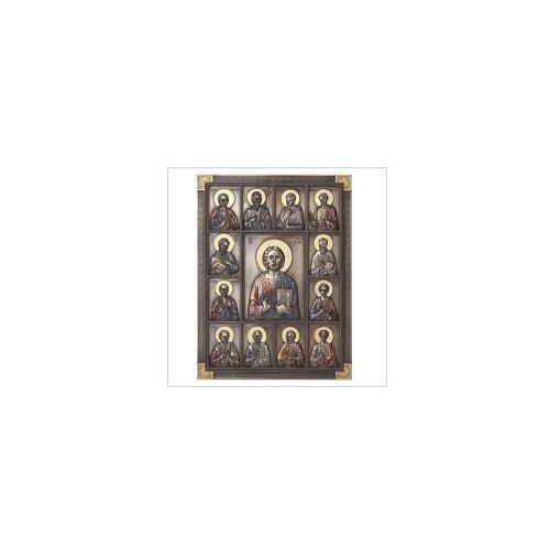 Veronese Ikona jezus i dwunastu apostołów - wu77623a4