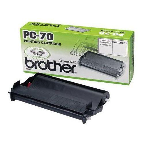 folia termotransferowa black pc-70yj1, pc70yj1 marki Brother