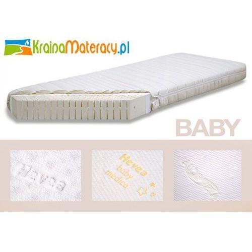 MATERAC LATEKSOWY HEVEA BABY ALOE VERA 120x60 z kategorii Materace dziecięce