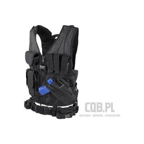 Kamizelka taktyczna  cross draw vest czarna cv-002 marki Condor