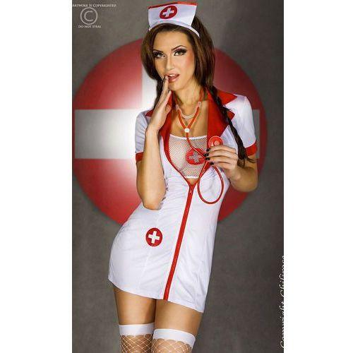 CR-3305 zestaw seksownej pielęgniarki ze stetoskopem z kategorii Kostiumy erotyczne