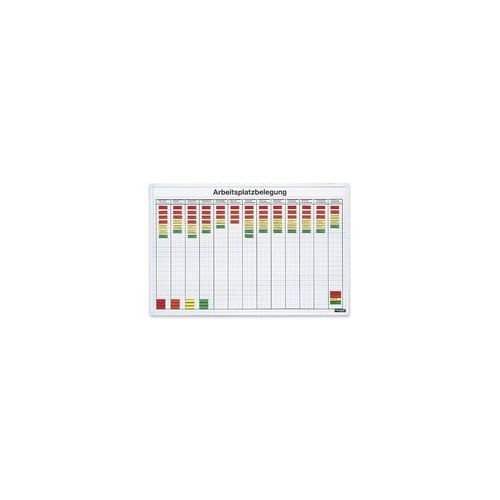 Planer zatrudnienia pracowników 900x600 mm (4013695012322)