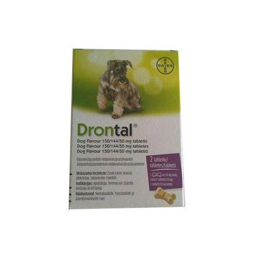 BAYER Drontal - Dog flavour 2tabl. (kostki)