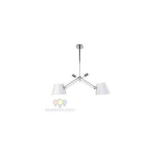 Lampa wisząca ORLICKI DESIGN Pesso Bianco nowoczesna z abażurem --- WYSYŁKA 48H --, PESSO