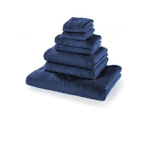 Bonprix Komplet ręczników (7 części) granatowy