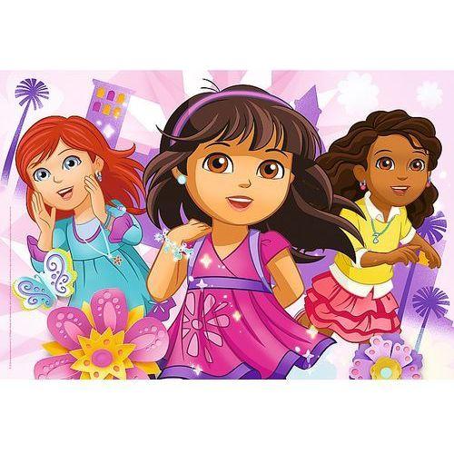Puzzle 50 elementów. lśniące sukienki - puzzle glam marki Trefl