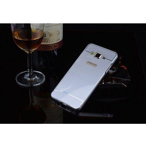 Obudowa Bumper Metal Mirror Samsung Galaxy A3 Srebrna - Srebrny