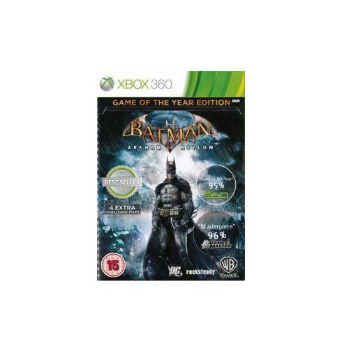 Batman Arkham Asylum (Xbox 360). Najniższe ceny, najlepsze promocje w sklepach, opinie.