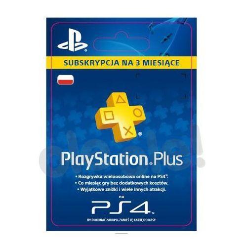 subskrypcja playstation plus 3 m-ce [kod aktywacyjny] od producenta Sony