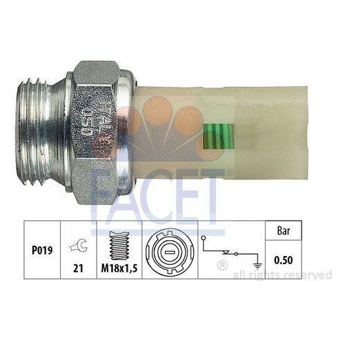Włącznik ciśnieniowy oleju  7.0075 marki Facet
