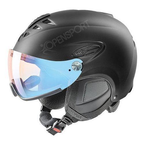Uvex Kask narciarski  hlmt 300 visor variomatic fotochrom black s