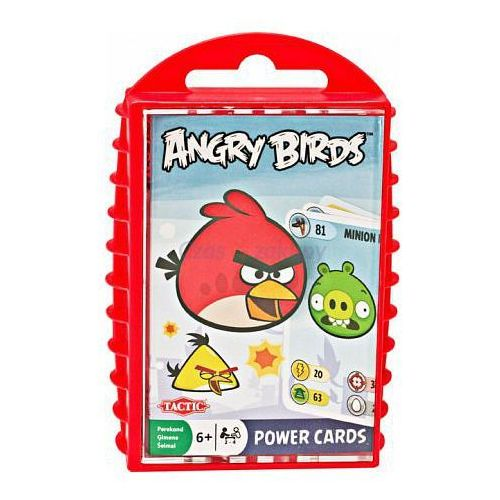 Tactic Karty do gry Angry Birds