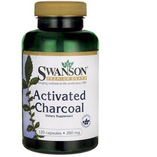 Węgiel drzewny aktywny activated charcoal 260mg 120 kapsułek swanson marki Swanson health produkcts fargo, nd 58108, usa, dystrybutor: pro sport