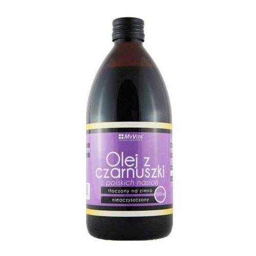Olej z czarnuszki 500ml marki Myvita - OKAZJE