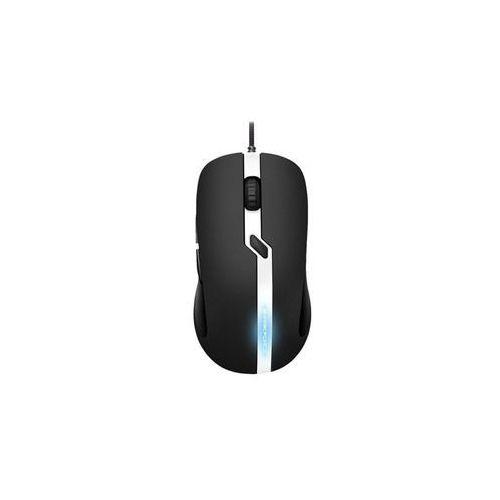 Sharkoon SHARK Force Pro - Black/White - Myszka do gier - Optyczny - 6 - Czarny (4044951019991)