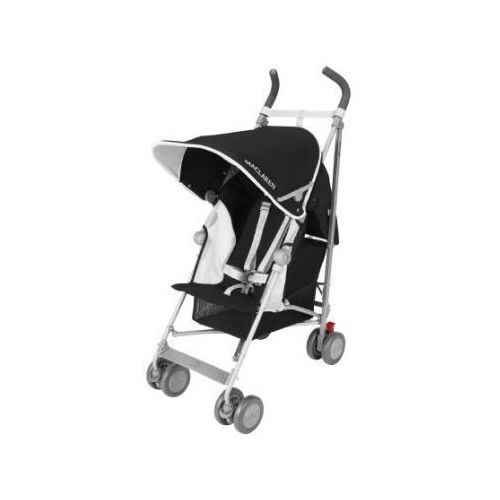 Maclaren wózek spacerowy globetrotter black/white (5010902216756)