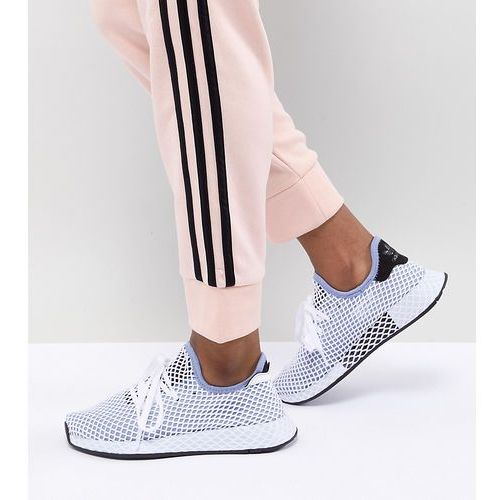 purchase cheap f78ad 8b0a4 adidas Originals Deerupt Runner Trainers In Blue - Black