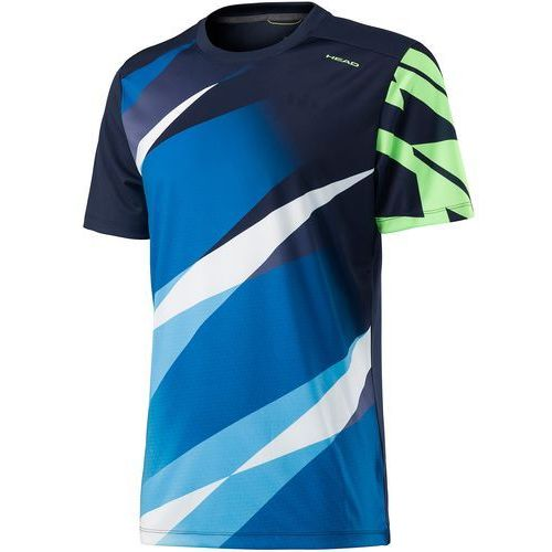 Head koszulka sportowa Vision Graphic Shirt M Navy L