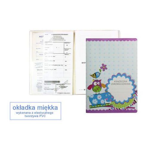 Biurfol Okładka etui na książeczkę zdrowia dziecka, pvc - 5-niebieski hipopotam