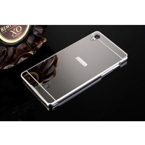 Mirror Bumper Metal Case Szary | Etui dla Sony Xperia Z3 - Szary