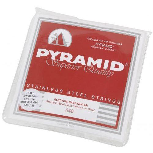 850 lb five lite stainless steels struny do gitary basowej 40-126 - wyprzedaż marki Pyramid
