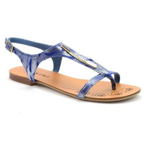 Sandały  128/1 niebieski, Ravini, 36-39