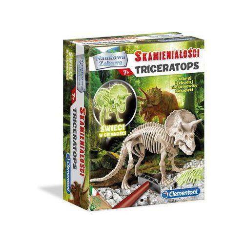 Clementoni Naukowa zabawa. skamieniałości triceratops fluores (8005125608928)