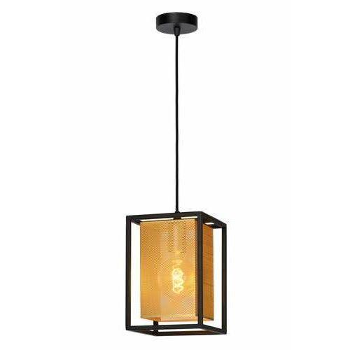 Lucide sansa 21422/01/30 lampa wisząca zwis 1x40w e27 czarny