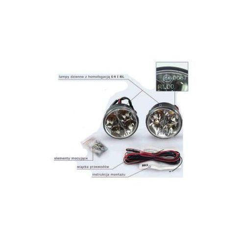 Profesjonalne Okrągłe Halogeny LED do Jazdy Dziennej 2x4 LED., 5907773414885