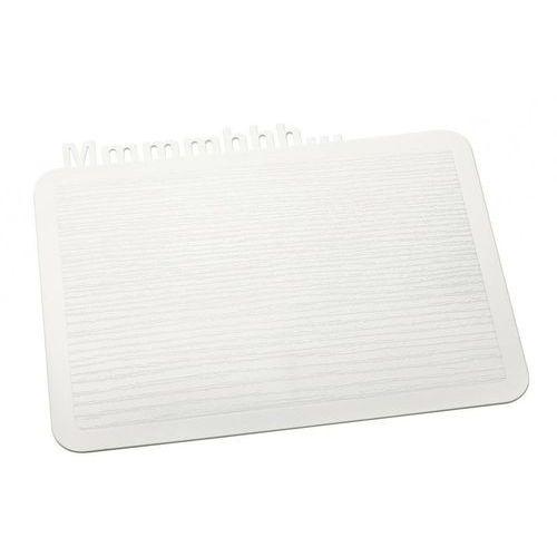 Deska śniadaniowa Happy Boards Mmmmhhh... biała, 3256525