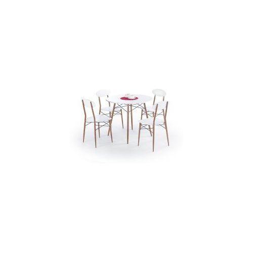 Halmar Zestaw record okrągły stół z 4 krzesłami