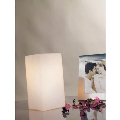 Lampa stołowa vilma 77031, e14, 1 x 40 w, 230 v, (sxw) 10 cm x 20 cm, opal marki Paulmann