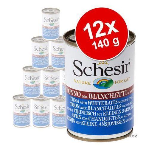 tuńczyk z wołowiną w galaretce 140g marki Schesir