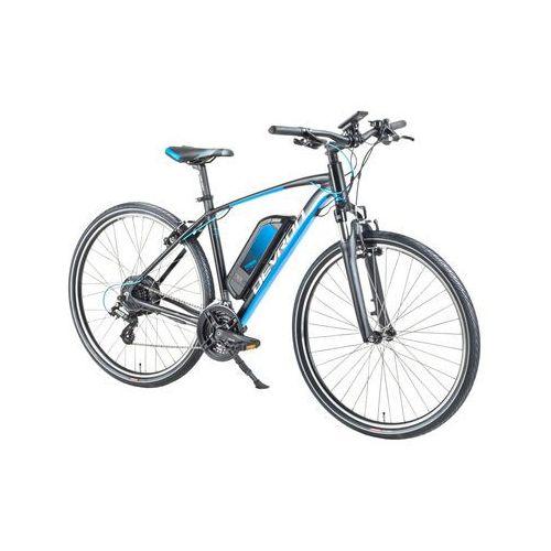 """Crossowy rower elektryczny 28161 28"""" - model 2018, czarny, 19"""" marki Devron"""