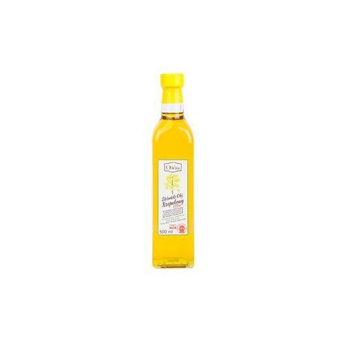 Olej rzepakowy tłoczony na zimno nieoczyszczony 500 ml marki Olvita. Najniższe ceny, najlepsze promocje w sklepach, opinie.