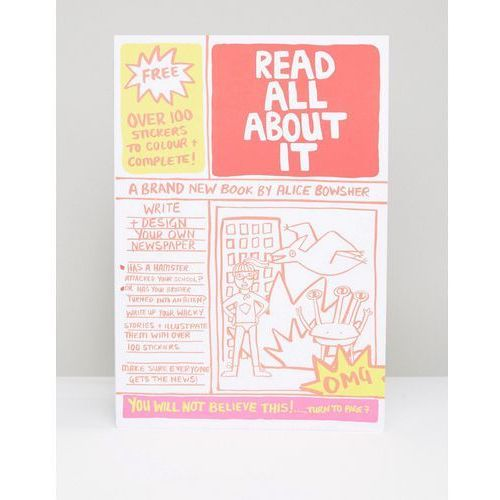 Read All About It Write Your Own Newspaper Book - Multi