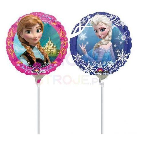 Twojestroje.pl Balon anna i elsa frozen 9'' 23cm