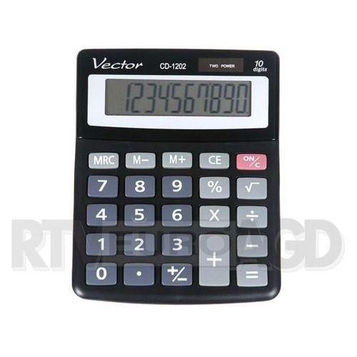 Kalkulator VECTOR CD-1202 (5904329493763) - Dobra cena!