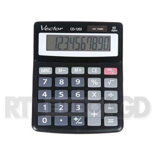 Kalkulator VECTOR CD-1202 (5904329493763) - OKAZJE