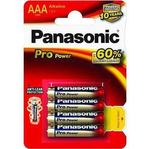 8 x Panasonic Alkaline PRO Power LR03/AAA (blister) - sprawdź w wybranym sklepie
