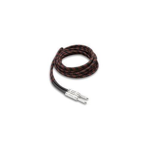 3gt-18c5 kabel gitarowy cloth black/red, 5.5m marki Hosa