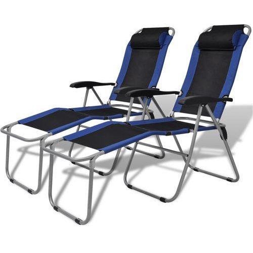 vidaxl krzesła kempingowe wypoczynkowe 2 producent vidaxl
