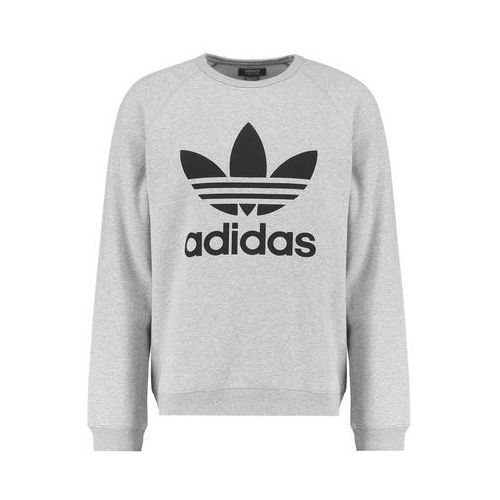 trefoil bluza medium grey heather/black, Adidas originals, XS-XXL