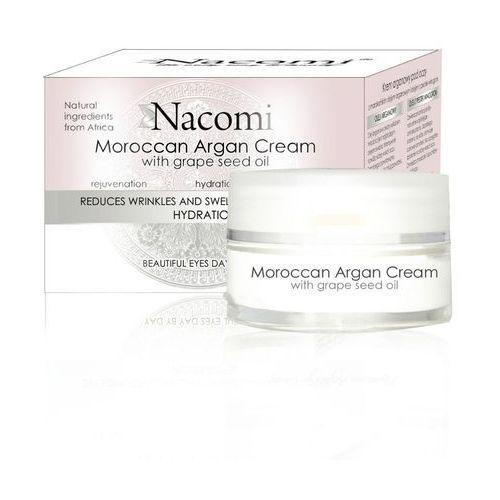Delikatny krem pod oczy z olejem arganowy i masłem Shea - 15ml - marki Nacomi, NACKRE104