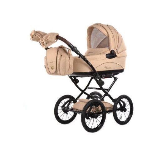 knorr-baby Wózek dziecięcy Classico kremowy (4250341307115)