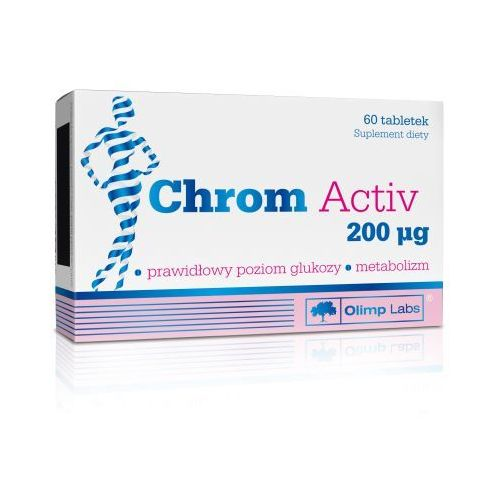 Chrom Activ 200mcg tabl. 60 tabl. (5901330034114)