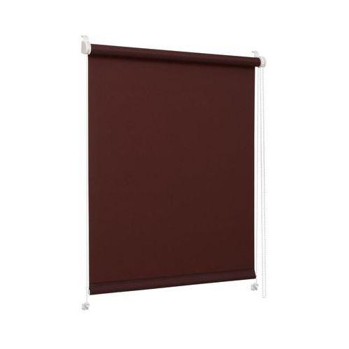 Roleta okienna MINI 48 x 160 cm brązowa INSPIRE (5904939055627)