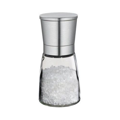 młynek do soli, śred. 6,5x14 cm, stalowy