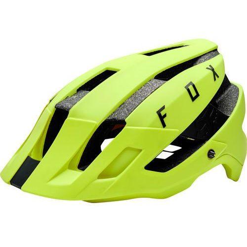 Fox Flux Kask rowerowy Mężczyźni żółty S/M | 56-58cm 2018 Kaski rowerowe